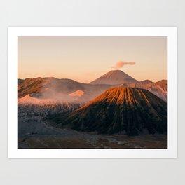 Might Mount Bromo // 4:3 Art Print