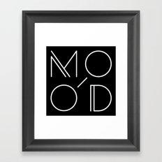 MOOD - MODERN Framed Art Print