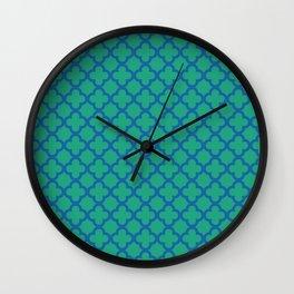 Quatrefoil_2 Wall Clock