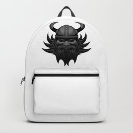 Vector Viking Face Backpack