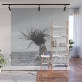 Feeling The Energy Of The Sea Sketch Wall Mural