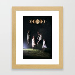 Divinity: Descensum  Framed Art Print