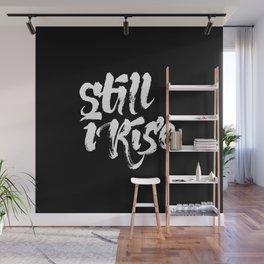 Still I Rise (in Black) Wall Mural