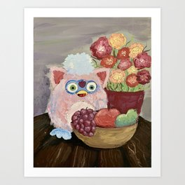 fruit baby in acrylic Art Print