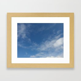 Melbourne Sky 03/06/2017 12:17:03PM 38/145 Framed Art Print