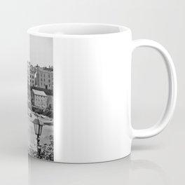 Tenby Harbour. Black+White. Reflection. Coffee Mug