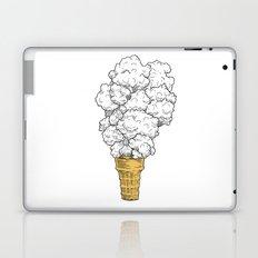 Volcano ice cream Laptop & iPad Skin