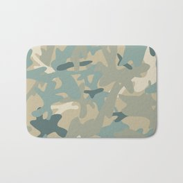 Camouflage military background Bath Mat