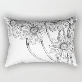 awake in the day2 Rectangular Pillow