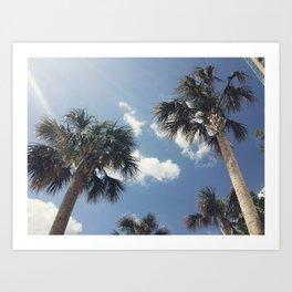 sweet summer time Art Print