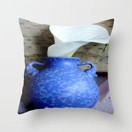 Simply Calla-lossal Throw Pillow