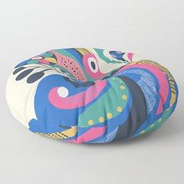 Miss Octopus Floor Pillow