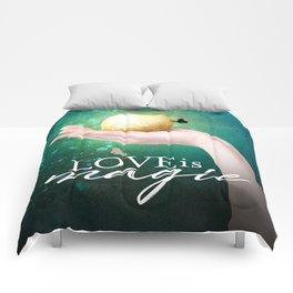 Love is Magic Comforters