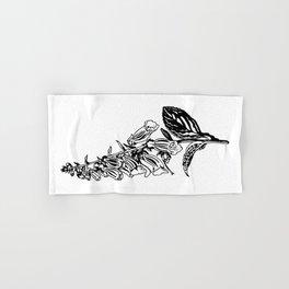 wild flower: digitalis purpurea Hand & Bath Towel