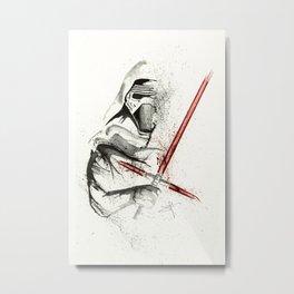 KyloRen - Splatter Artwork 2 Metal Print