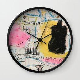 Simona's Eyes Wall Clock