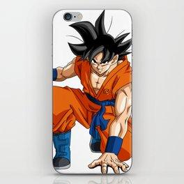 Fan Art Goku Dragonball iPhone Skin
