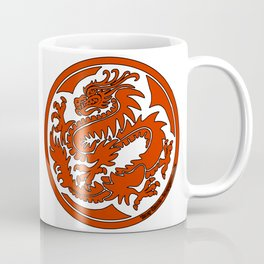 Tracy Queen - Crest of the Dragon Clan Coffee Mug