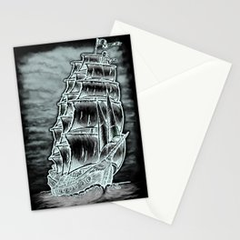 Caleuche Ghost Pirate Ship Variant Stationery Cards