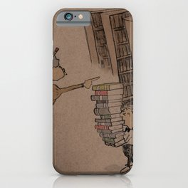 Gothic Library iPhone Case