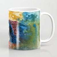 lucy Mugs featuring Lucy by Ecsentrik