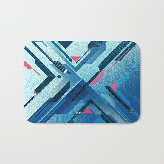 Geometric - Collage Love Bath Mat
