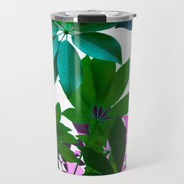 Plant, Leaf Composition Travel Mug