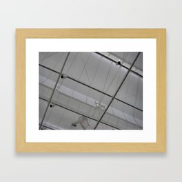 LACMA Ceiling Sweep Framed Art Print