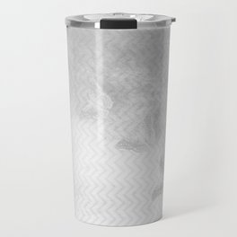 Ghostly butterflies disappear in the mist Travel Mug