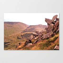 Pride Rock Canvas Print