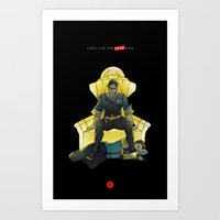Long Live the Dead King Art Print
