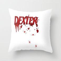 Dexter - fan art Throw Pillow