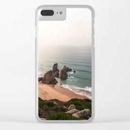 Ursa's Beach Clear iPhone Case