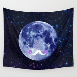 Goodnight moon Wall Tapestry