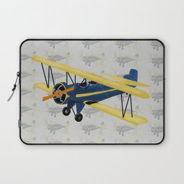 Bi-Plane - Fleet Model Laptop Sleeve