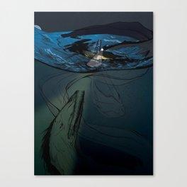 Abaia The Great Eel Canvas Print