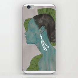 nilüfer iPhone Skin
