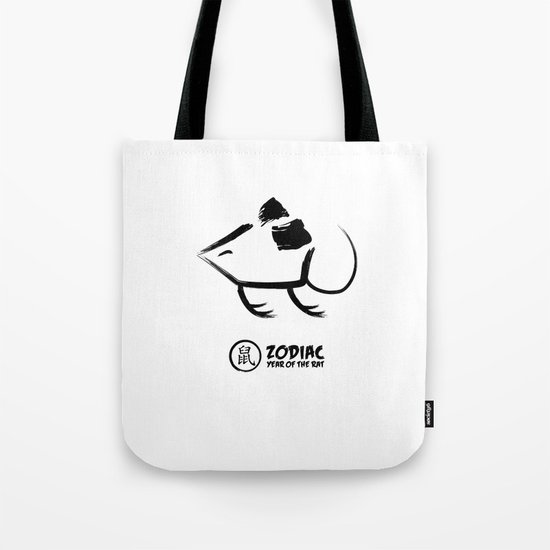 Chinese Zodiac - Year of the Rat Tote Bag