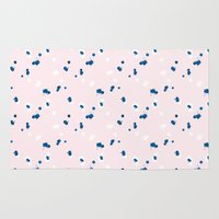 confetti Area & Throw Rugs featuring confetti by youdesignme