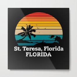 St. Teresa, Florida FLORIDA Metal Print