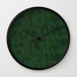 Real Green Pine Wall Clock