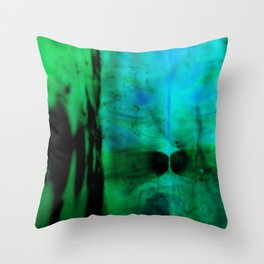 Blobs 2 Throw Pillow