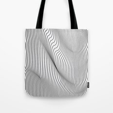 Minimal Curves Tote Bag