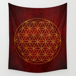 Flower of Life Collection Wall Tapestry