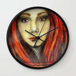 A Girl Called Ina Wall Clock