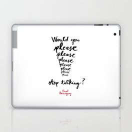 Please-white Laptop & iPad Skin