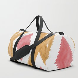 Del Rio Watercolor in Yellow and Pink Duffle Bag