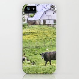 Lazy Days in the Country  iPhone Case