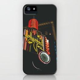 Hollywood & Vine iPhone Case