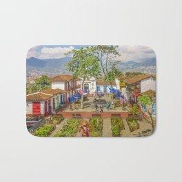 Pueblito Paisa, Medellin - Colombia Bath Mat